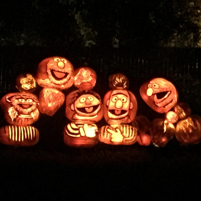 Sesame Street: pumpkins